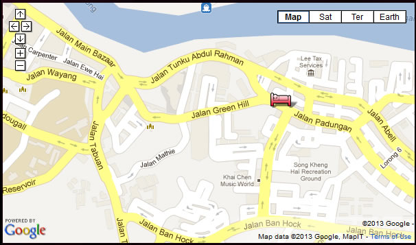 Batik Boutique Hotel Map