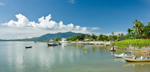 Sematan Waterfront Lundu Kuchingborneo