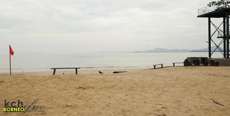 private beach lundu retreat