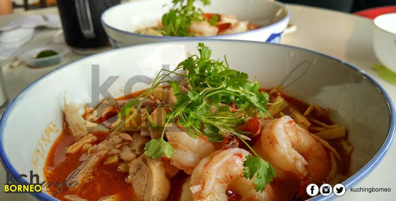 The House Cafe Laksa Sarawak