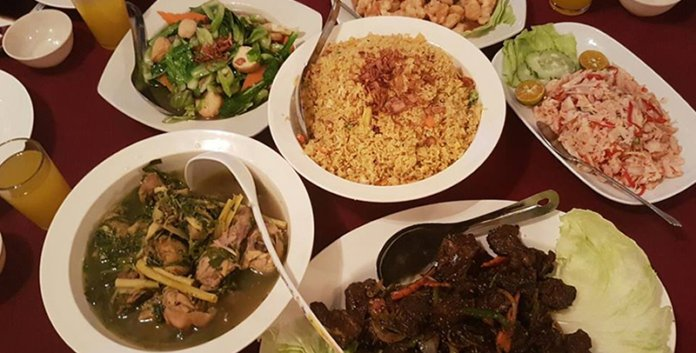 Local dishes for dinner