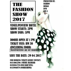 The Fashion Show 2017 @ Penview Hotel, Kuching