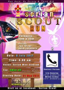 Serian Scout Run 1.0 @ Stadium Mini Serian, Serian