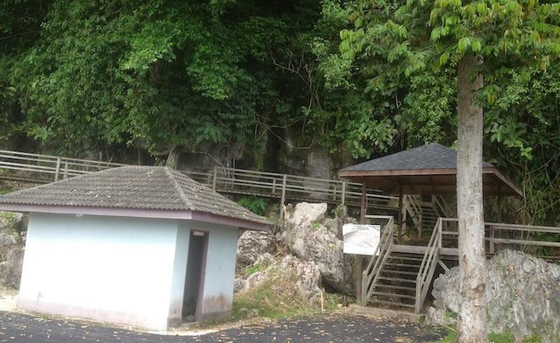 Gua Raya entrance
