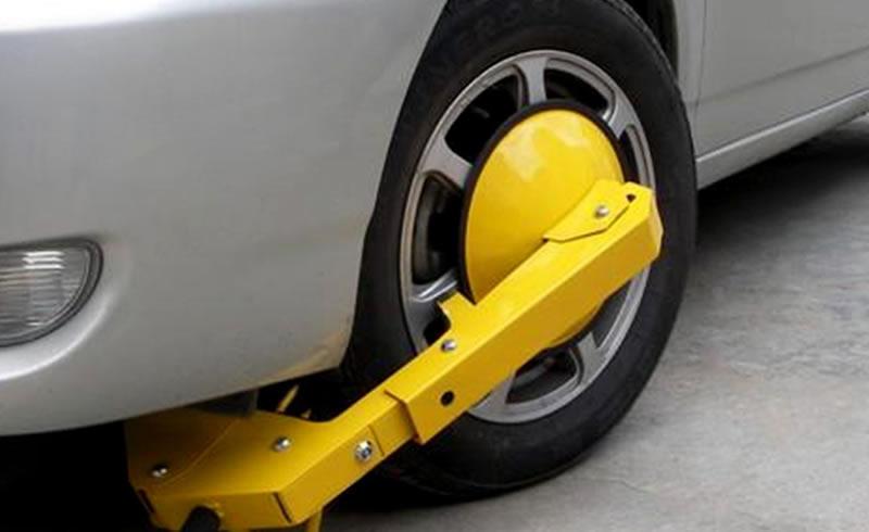 Car clamping