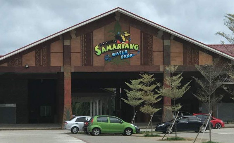 Borneo Samariang Water Park Reception Building