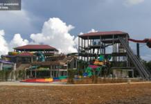 Borneo Samariang Water Park Santubong Tower