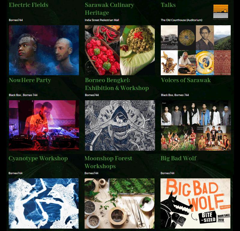 rff 2018, rainforest fringe festival