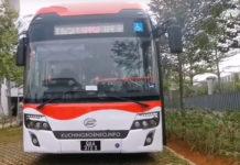 Kuching hydrogen bus