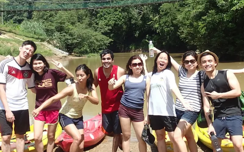 Rainforest Kayaking Adventure